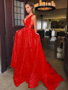 Chic A-line Prom Dress,Silver Tulle V-Neck Rhinestone Evening Dress Party Dress Gorgeous Prom Dresses, Prom Dresses Two Piece, Simple Prom Dress, Elegant Prom Dresses, A Line Prom Dresses, Cheap Prom Dresses, Formal Evening Dresses, Nice Dresses, Junior Prom Dresses