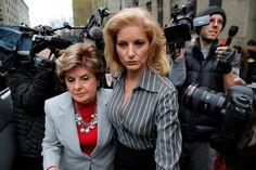 Summer Zervos, who has accused the president of sexual harassment, appeared in court for her defamation suit Tuesday.
