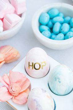 Easter Egg Decorating Party for kids! Water color Easter eggs and delicious Easter appetizers!