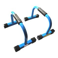 """JuperbSky 13""""x 8.5""""x 8"""" Push-Up Stands Bars Parallettes Set for Workout Exercise. Abrasion resistant TPR handle covers provide a steady, soft and comfortable grip, and widening of the handle better match your hand's curves; Product dimensions: 13"""" x 8.5"""" x 8""""."""