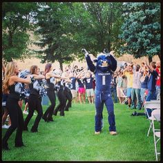 The Scotsman being sung at Aggie BLUE Fall Leadership Conference! #AggieLife