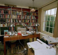 David Starkey's writing room.