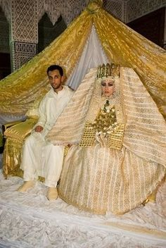 Just like in the bible days remember!! LOL!! pics of moroccan desert wedding brides dresses