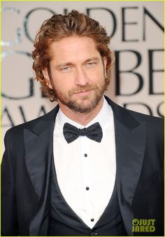 Or maybe Gerard Butler will go with me,