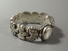 Vintage Georg Jensen Silver Bracelet