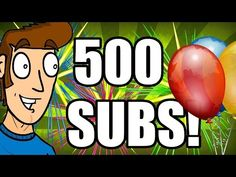 ▶ 500 SUBS THANK YOU VIDEO + 2 NEW SERIES! (SUBSCRIBER SHOUTOUT!) - YouTube