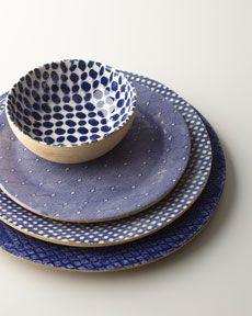 Cobalt Patterned Dinnerware