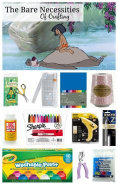 5 The Jungle Book Crafts & Bare Necessities Craft Supplies ~ Giveaway