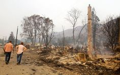 At least 95 homes gone in Pateros, Methow Valley fires
