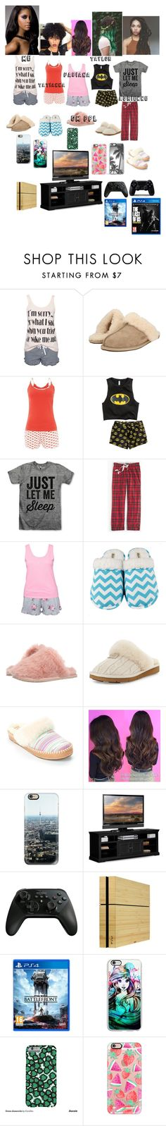"""GOOD MORNING"" by bele6476 ❤ liked on Polyvore featuring Rut&Circle, UGG Australia, Tommy Hilfiger, J.Crew, Hunkemöller, Leisureland, Ted Baker, Casetify, Toast and Sony"