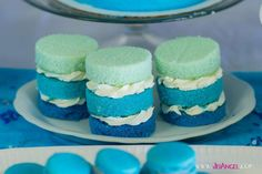 Prince Carter's Blue Ombre 2nd Birthday Party | CatchMyParty.com