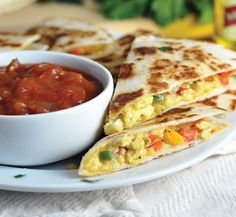 Mexican Breakfast Quesadillas - #STARFineFoods