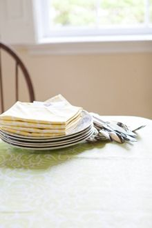 Show Mom you learned how to Set a Proper Table! | The Hen Blog #henhouselinens