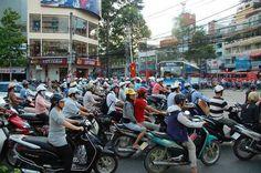 Don't ask how I got here, but I'm in Ho Chi Minh City.