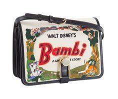 Les sacs et minaudières-livres Olympia Le-Tan x Disney, Bambi