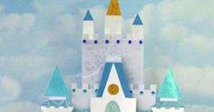 Cinderella Castle, Magic Kingdom, Disney World Cinderella Castle, Walt Disney World, Florida The supermoon behind Cinderella castle Cinderel. Disney Diy, Disney Crafts, Walt Disney, Cinderella Crafts, Cinderella Birthday, Cinderella Castle, Cinderella Princess, Molde Peppa Pig, Scrapbook Da Disney