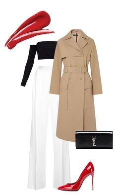 """Без названия #9"" by m-linev on Polyvore featuring мода, Givenchy, Joseph, Dolce&Gabbana и Yves Saint Laurent"