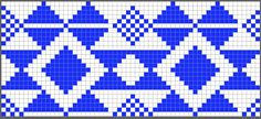 Colores bolso de ganchillo azul diagrama Chart for the blue and white clucht Tapestry Crochet Patterns, Crochet Stitches Patterns, Weaving Patterns, Tshirt Garn, Crotchet Bags, Mochila Crochet, Tapestry Bag, Tapestry Design, Knitting Charts