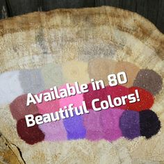 Colored Sand - Wedding Unity Sand - Craft Projects - Home Decor - Wedding Decor - Wedding Centerpieces - Home Decor Projects - Bright Colors Wedding Centerpieces, Wedding Decorations, Decor Wedding, Raspberry Punch, Lime Sour, Unity Sand, Spiced Cider, Wedding Sand, Unity Ceremony