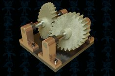 Swash Plate Gears - Parasolid,AutoCAD,SOLIDWORKS - 3D CAD model - GrabCAD