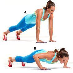 5 exercícios para perder gordura do tchauzinho