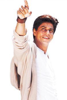 Living legend Shahrukh Khan. He's just adorable!
