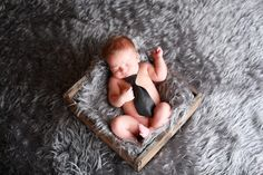 Baby pose with tie   Photo by Michelle Denton Photography ♥