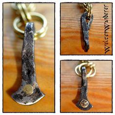 Thorshämmerchen; kleiner Thorshammer, geschmiedet www.weltenwanderer.info/werkelblog