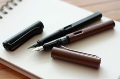 Lamy Al-Star fountain pen in Coffee Lamy Fountain Pen, Sailor Pens, Pen Collection, Dip Pen, Rollerball Pen, Mechanical Pencils, Pen And Paper, Writing Instruments, In Writing