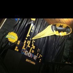 Batman Birthday Party.  Cooper's 5th!!!  by Tre' Krupnick #moderncraftmom