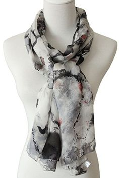 L&A Black and White Oversized Long 100% Pure Silk Scarves for Women and Girls La-Co http://www.amazon.com/dp/B00HRI9G2Q/ref=cm_sw_r_pi_dp_ca71wb0GRZ5HQ