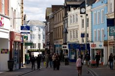 Barnstaple High Street - my ancestors would have walked these streets