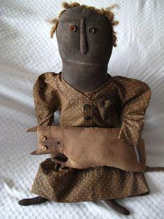 Norma schneeman collectors a rare netty lacroix folk art doll and ...
