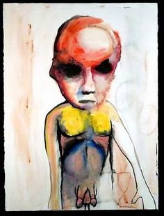 Painting: Dysmorphophila by Marilyn Manson Arte Marilyn Manson, Marilyn Manson Paintings, Baby Painting, Painting & Drawing, Horror Picture Show, Naive Art, Outsider Art, Dark Art, Art Inspo
