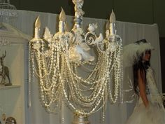 Strings of pearls are made with a Viva Decor Pearl Pen & Fishing Wire