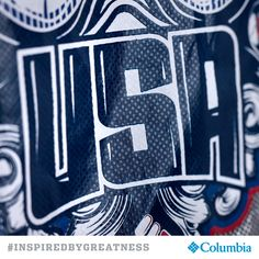 This is where champions are made and because of their spirit, Columbia is #INSPIREDBYGREATNESS
