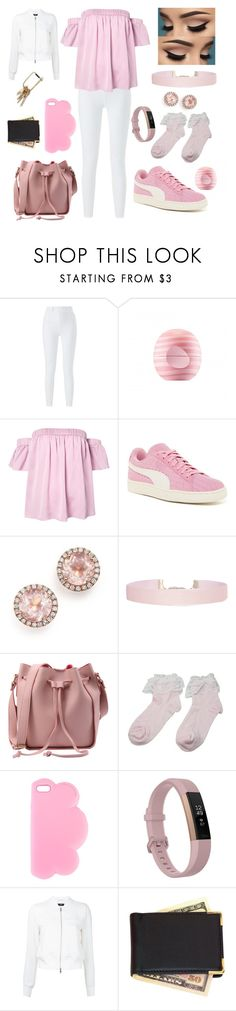 """""""23/04/2017"""" by alicia-brockett ❤ liked on Polyvore featuring Eos, Milly, Puma, Dana Rebecca Designs, Humble Chic, STELLA McCARTNEY, Fitbit, Theory and Royce Leather"""