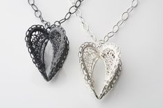 Heart of the home Pendants. Silver. By Ebba Goring