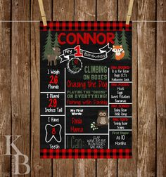 Hunting Lumberjack Woodland Forest by KBlantonGraphics on Etsy