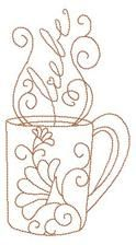 LoveCoffee - Free Instant Machine Embroidery Designs