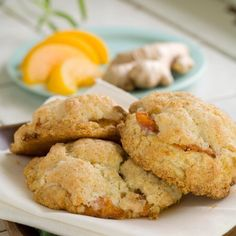 Ginger Peach Scones :: Rolling Scones Bakery & Cafe located in Goshen, IN