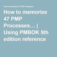 How to memorize 47 PMP Processes… Project Management Certification, Program Management, Class Management, Management Tips, Small Business Management, Project Management Professional, Business Card Maker, Business Cards, Pmp Exam Prep