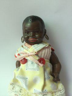Antike Puppe von Heubach Köppelsdorf, Nr. 418 . 14/0