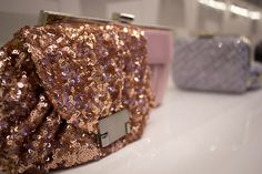 Aftershock London Sequined Clutch