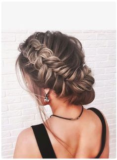 Beautiful Crown Braid With Updo Wedding Hairstyles 2017 – trendslove - Beauty Esthetic Hair Braided Hairstyles Updo, Pretty Hairstyles, Wedding Hairstyles, Hairstyle Ideas, Braided Updo, Amazing Hairstyles, Updo Hairstyle, Hairstyles 2016, Formal Hairstyles