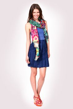 Wear it with your favorite Desigual dress!