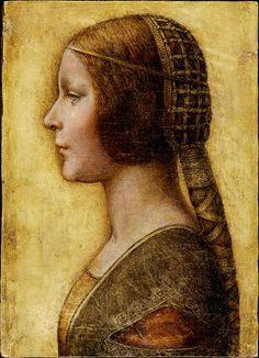 La Bella Principessa (possibly by Leonardo Da Vinci)