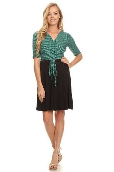 Business As Usual Dress in Green