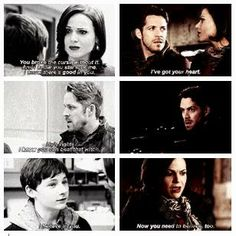 """""""Now you need to believe too...."""" - Regina, Robin and Henry."""