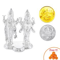 Silver-Store | Pooja-Items | Agarbatti-stand--20-Grams | Agarbatti-stand--20-Grams (Approx-Weight) Two-St